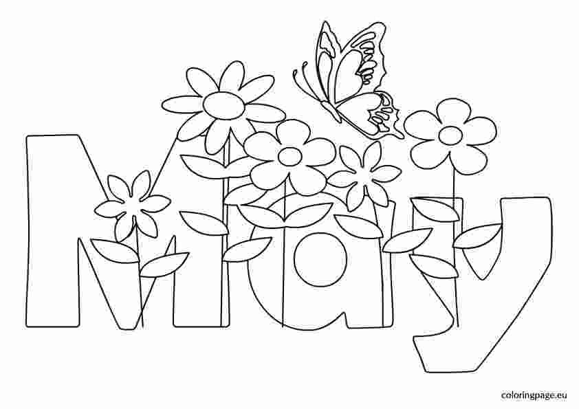 May Coloring Pages Free Printable Spring Coloring Pages Coloring Pages For Kids Coloring Pages