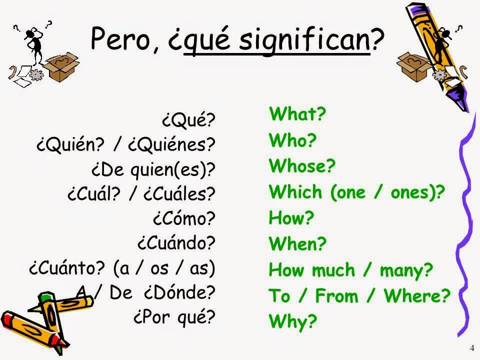 WH- Questions - palabras para hacer preguntas: who, what, where ...