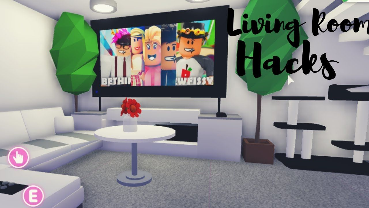 Living Room Hacks Roblox Adopt Me Youtube In 2020 Living Room Hacks Room Hacks Cute Room Ideas