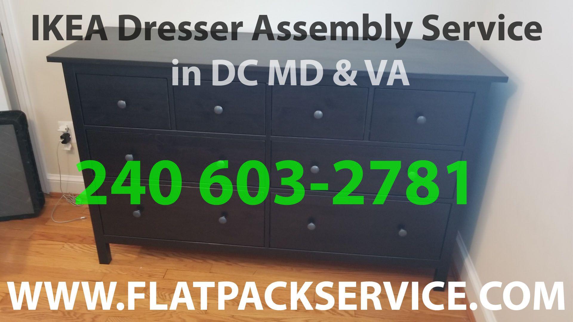 Ikea Hemnes 8 Drawer Dresser Embly By Flatpack 240 603 2781