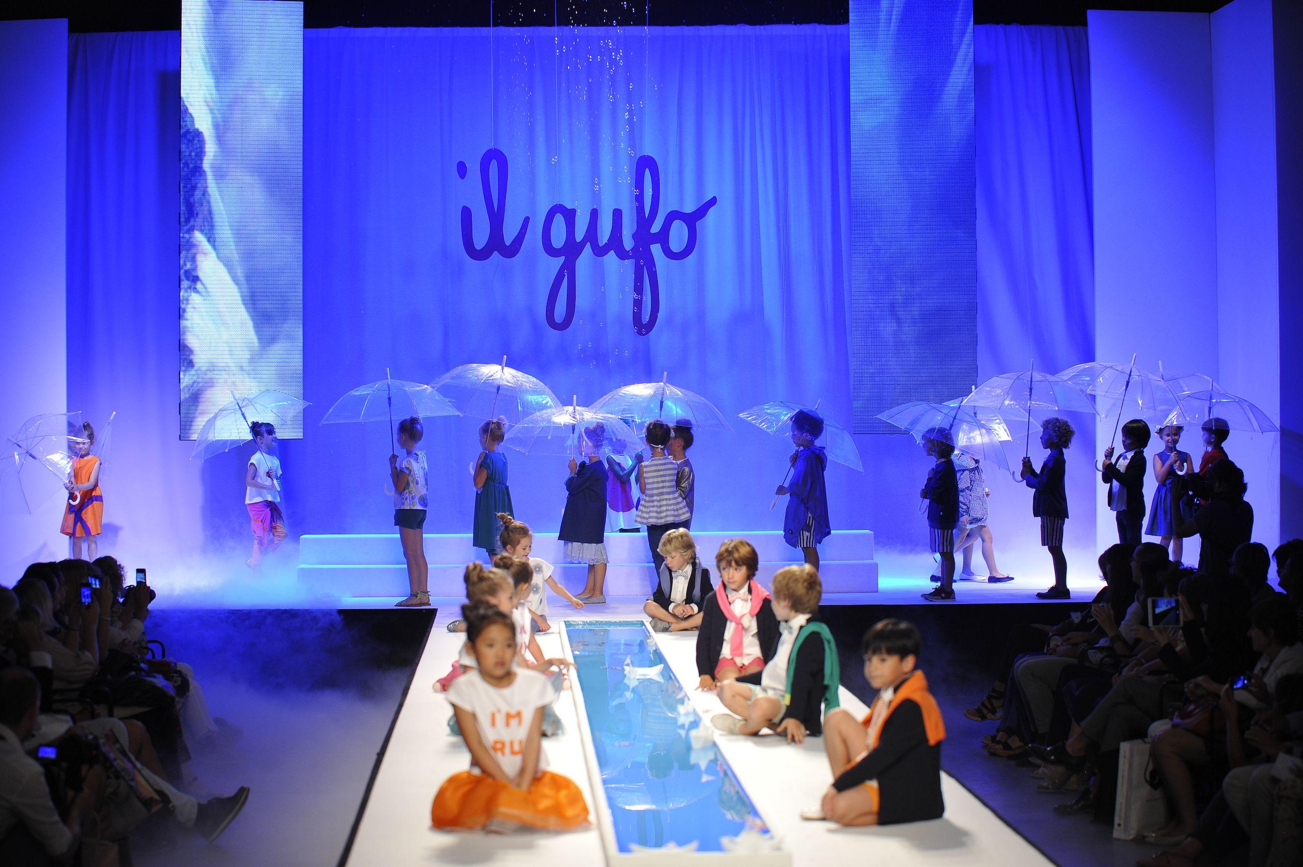 Il Gufo SS15 Fashion Show at Pitti Bimbo 79. #ilgufo #ss15 #fashionshow #fashion #kids #fashionkids #ootd #kidsootd #stylekids #kidstyle #inspiration #kidscollection #girlstyle #boystyle #pittibimbo #florence #italy