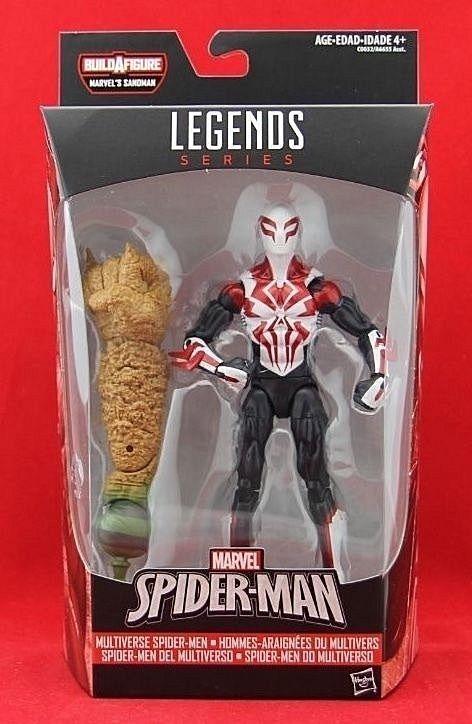 Marvel Legends Spider Man Action Figure Baf 6 Loose Spiderman Custom Homecoming