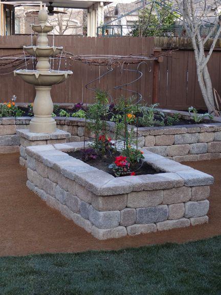 Build your own stone planter box! Easy DIY project:  http://info.basalite.com/build-your-own-stone-planter-box