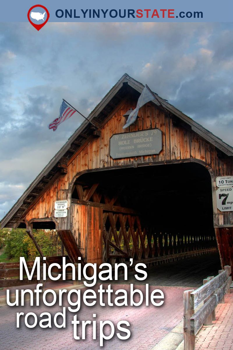10 Of The Best Road Trips You Can Take In Michigan Michigan Travel Michigan Road Trip Road Trip Fun