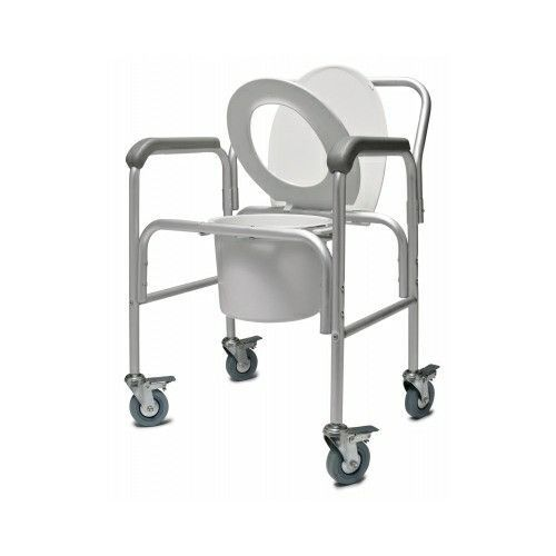 Bedside 3-In-1 Commode With Locking Casters | Lumex  #Isotonic #recovery #Lubbock #nurses #wound #yoga #walkingstick #skincare #Isometric #routines