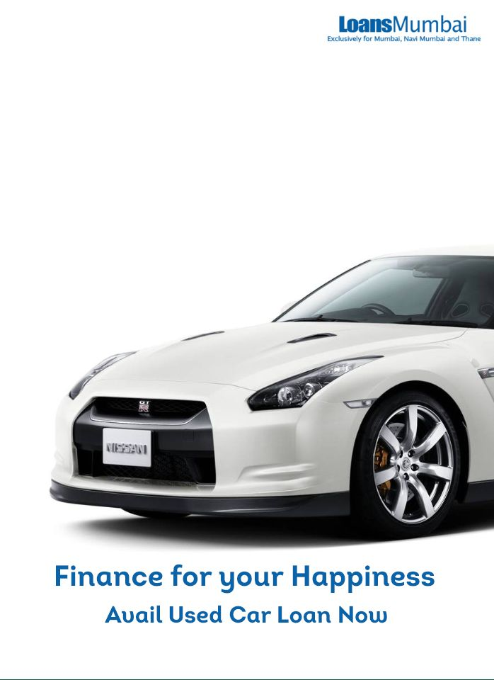 Used Car Loan Finance On Existing Car At Low Rate Of Interest In
