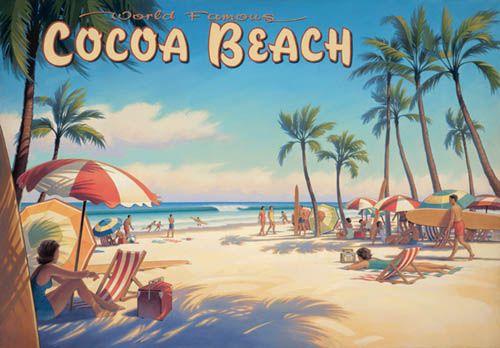 Vintage Beach Posters Bing Images