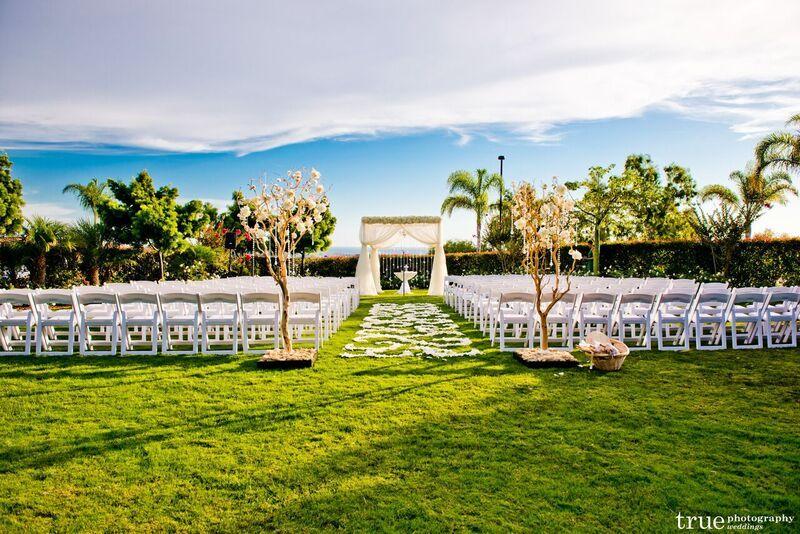 Gorgeous outdoor wedding at the Sheraton Carlsbad Resort ...