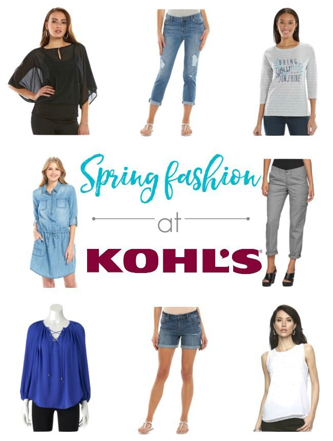 Fill your closet with Spring Fashion at Kohl's #SpringatKohls #ad