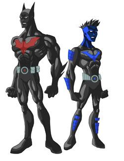 Batman and Nightwing Beyond