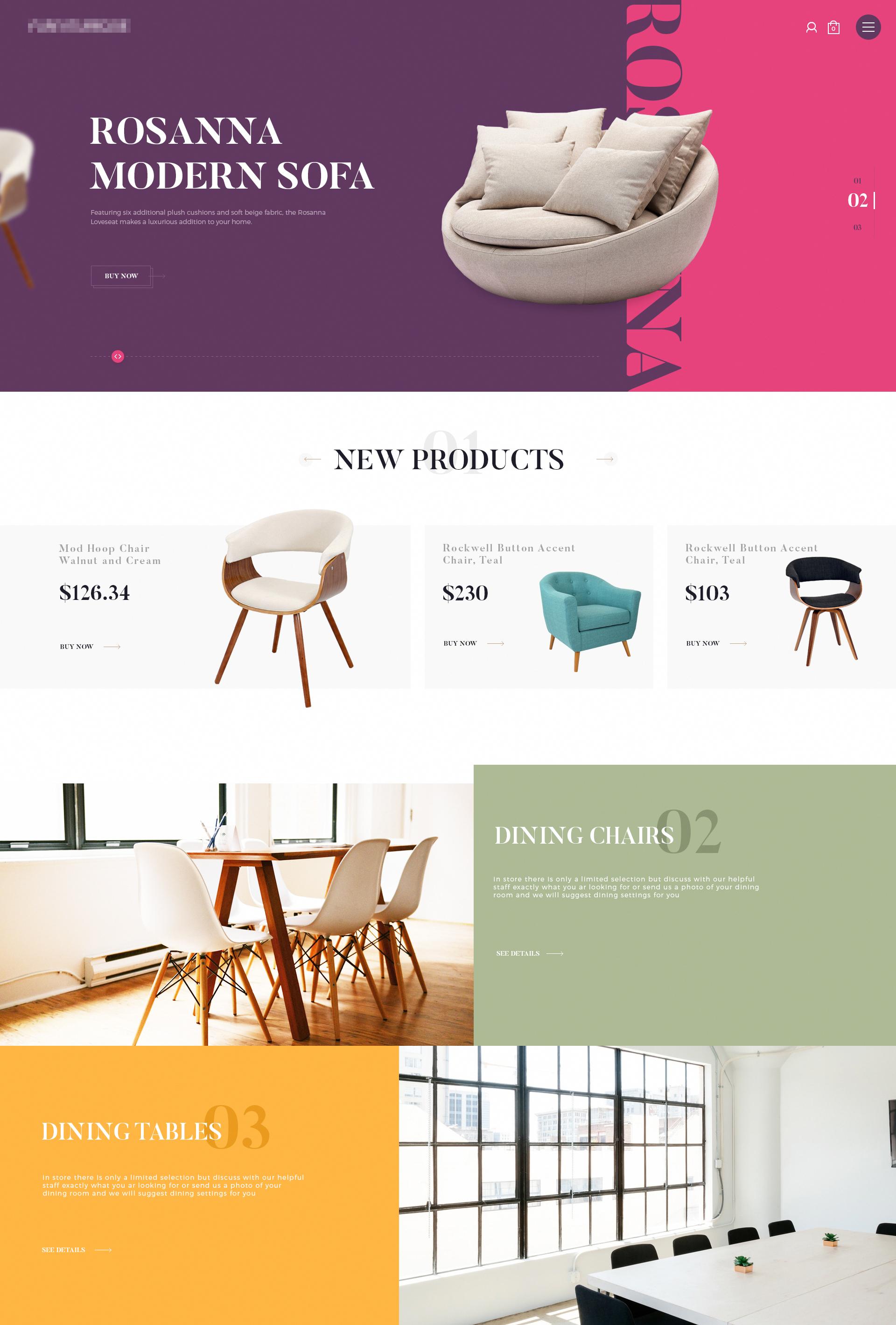Https dribbble com shots 3217885 furniture website