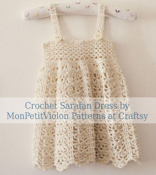 Crochet Sarafan Dress Pinterest Crochet Baby Dress Pattern