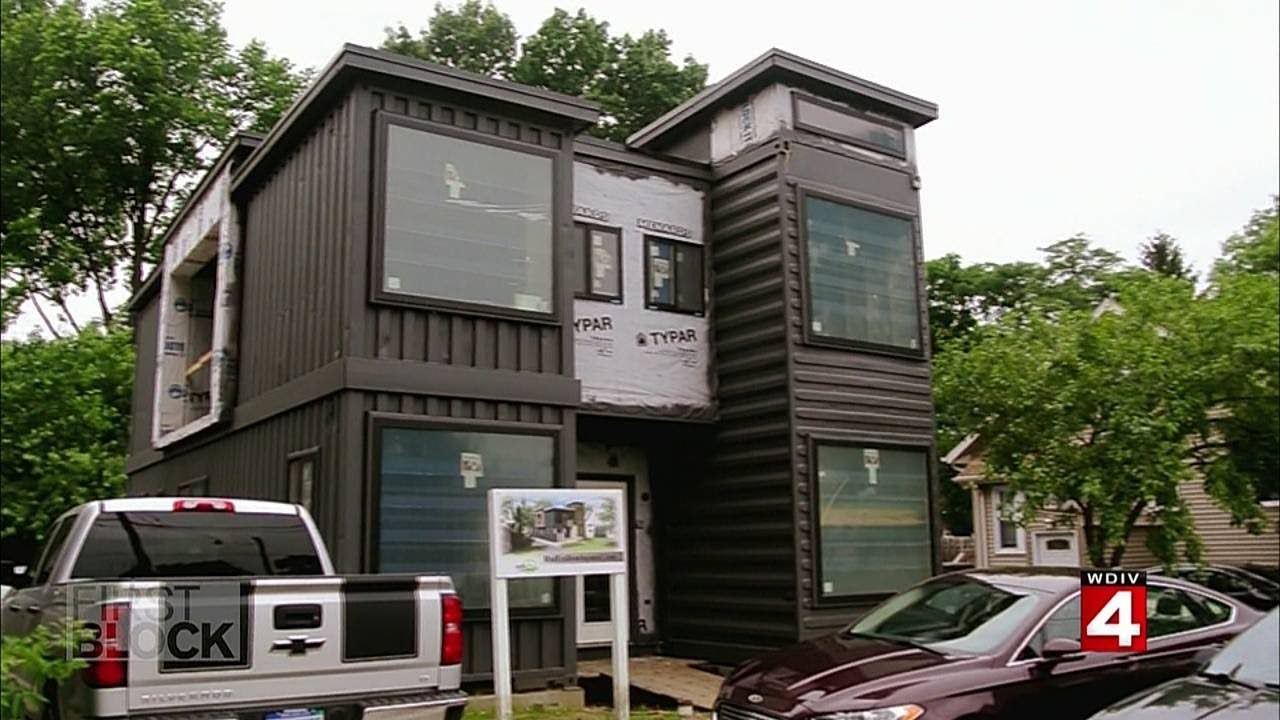How Shipping Containers Become New Homes In Detroit In 2020