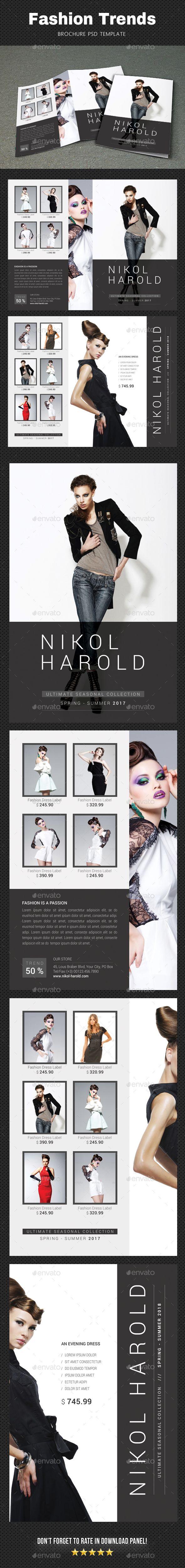 Fashion Brochure Brochures Brochure Template And Print Templates - Fashion brochure templates