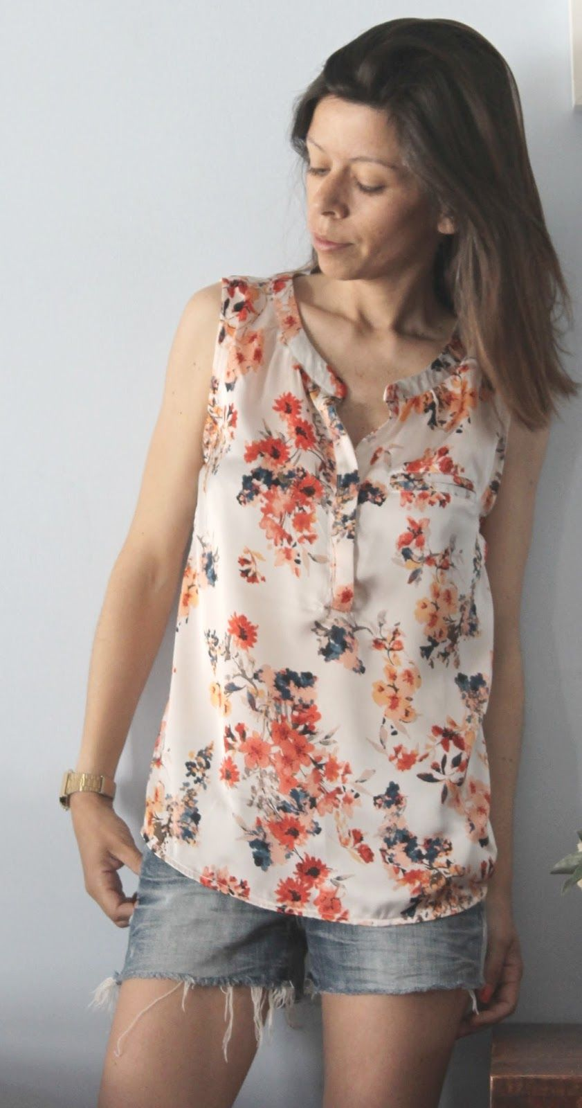 Biscayne Blouse by In a Manner of Sewing | Hey June | Pinterest ...