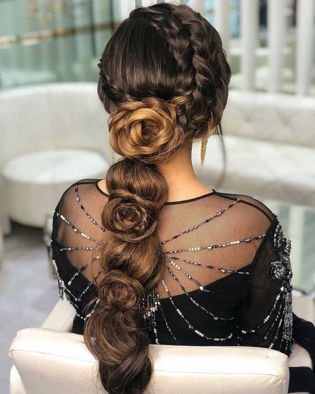 Latest Wedding Hairstyle Inspirations For Your Special Day Indian Bridal Hairstyles Hair Styles Wedding Hairstyles