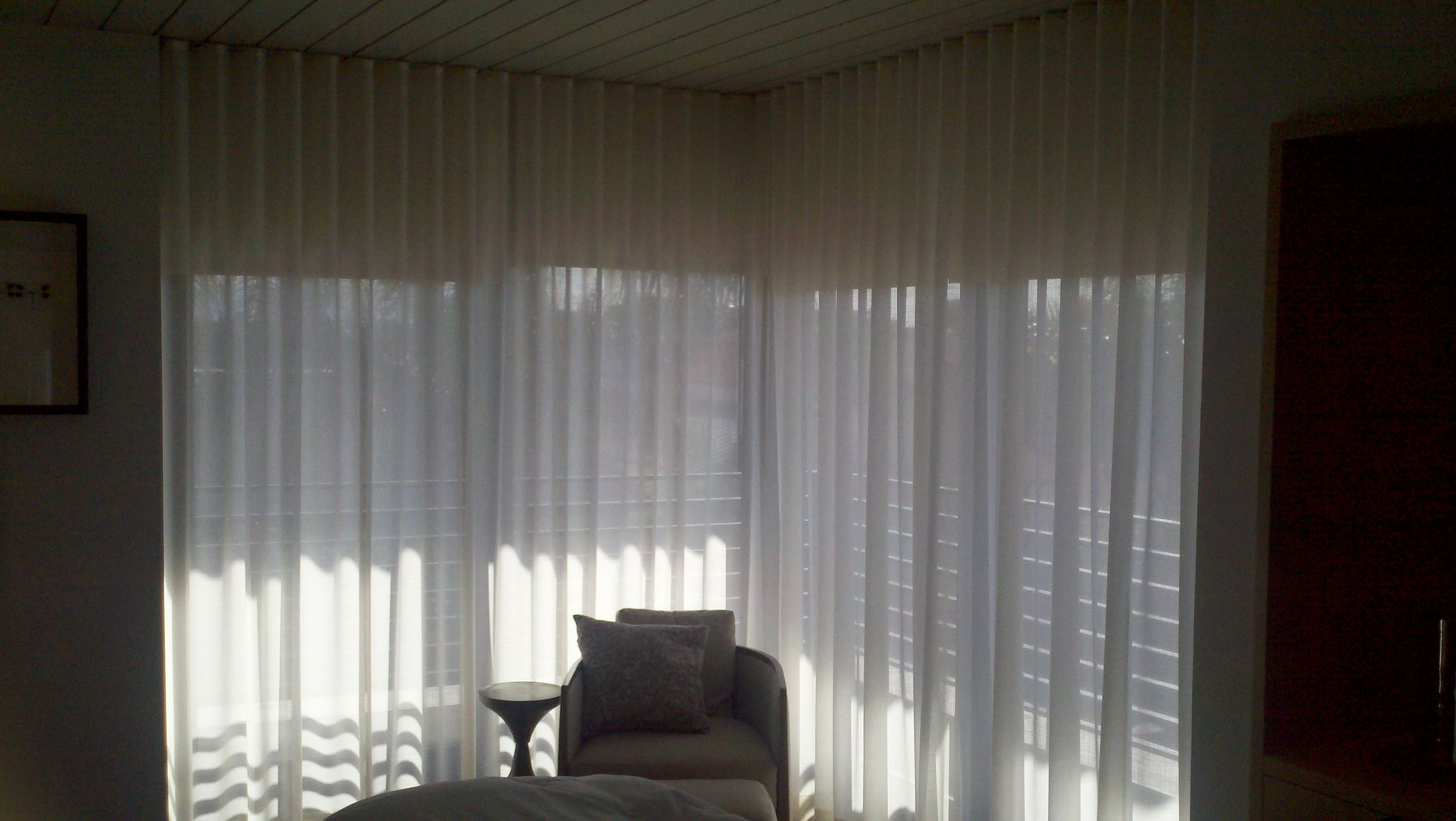 drapery hand youtube watch controlled by or electric curtain drapes motorized control remote