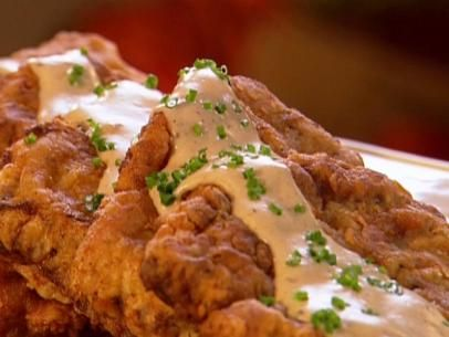 Get country fried steak with biscuits and gravy recipe from food get country fried steak with biscuits and gravy recipe from food network forumfinder Image collections