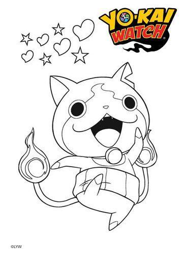 Coloriage de yo kai gulli tes missions dessins anim s - Coloriage franky le robot ...