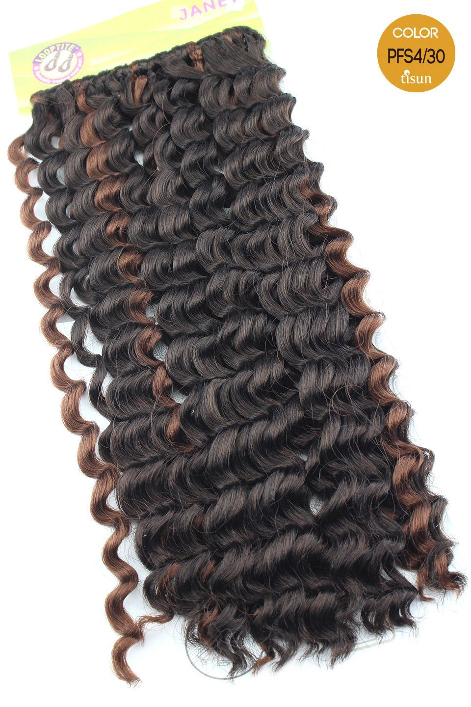 Janet collection mambo open loop brazilian twist braid