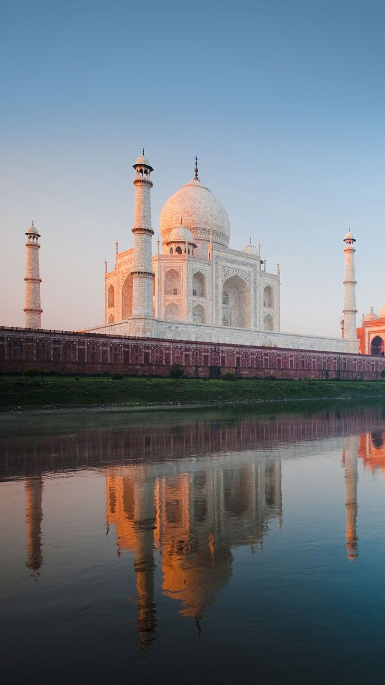 Taj Mahal Hd Iphone Wallpaper Iphone Wallpapers Pinterest