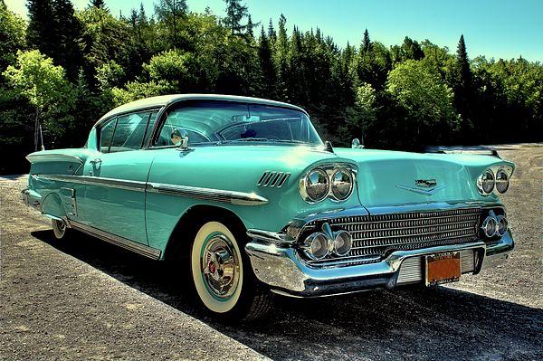 1958 Chevrolet Impala By David Patterson Chevrolet Impala Chevrolet American Classic Cars