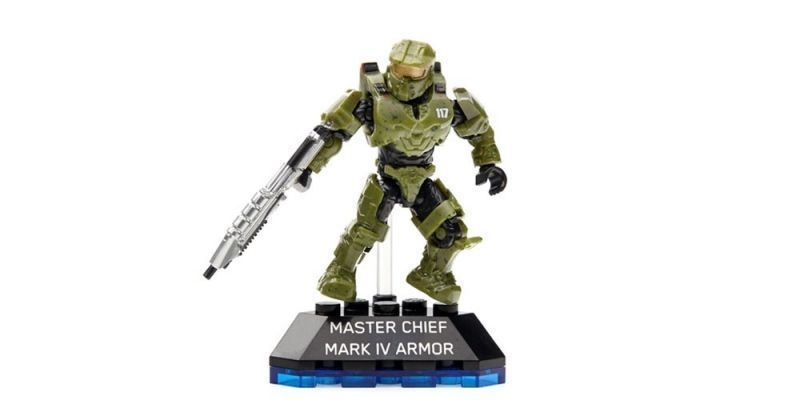 MEGA BLOKS HALO HEROES SERIES 1 ACTION FIGURES COLLECTION SET 6