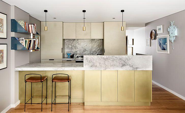 New Beautiful Interiors By Australian Studio Bmid Kitchen Design