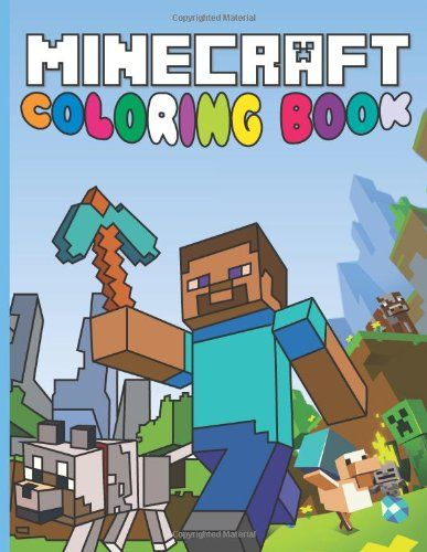 Minecraft Coloring Book Fun Minecraft Drawings For Kids