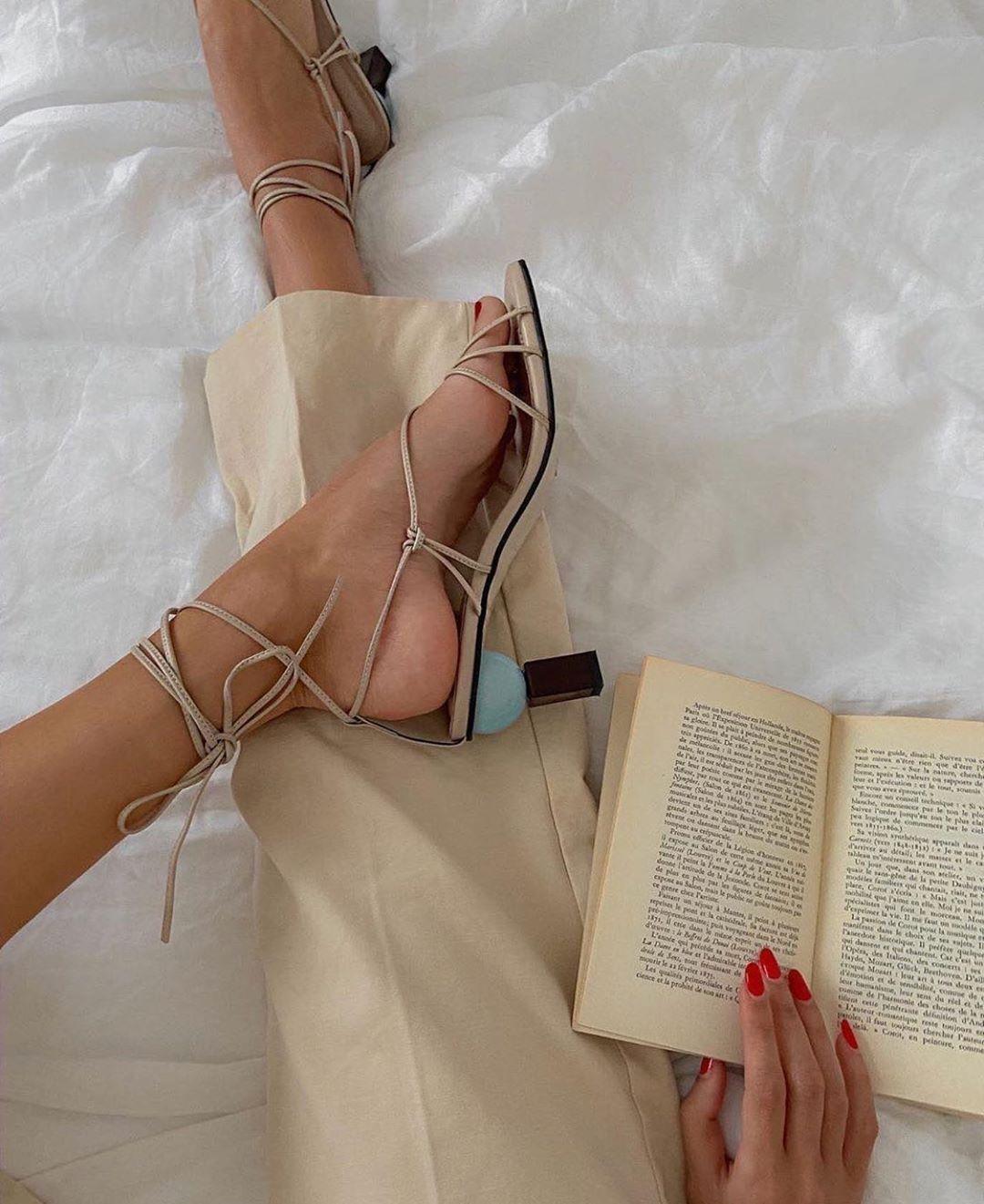 Lace up sandals, Shoes, Heels