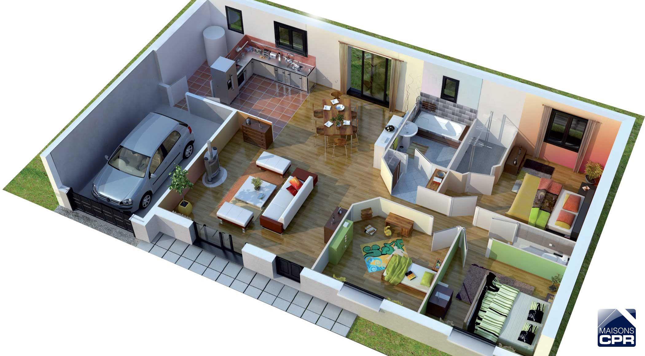Couleurs Villa vous propose la Villa Galane moderne contemporaine