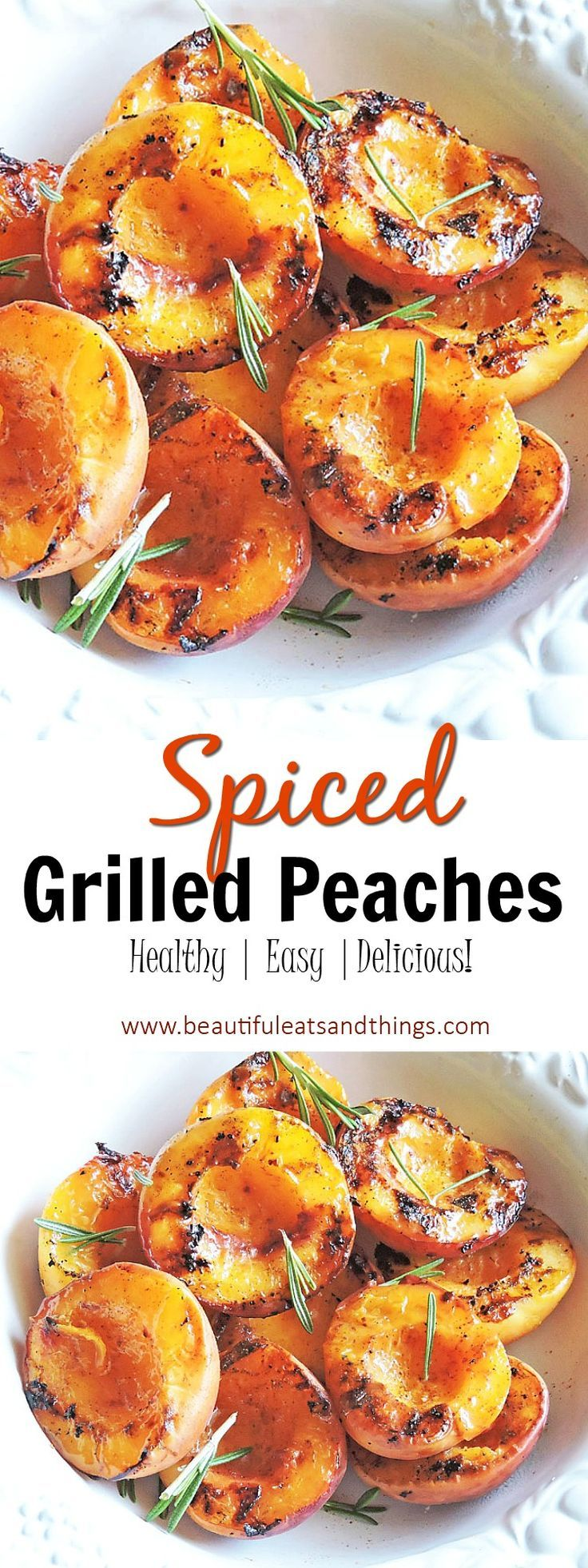 Spiced Grilled Peaches – Beautiful Eats & Things