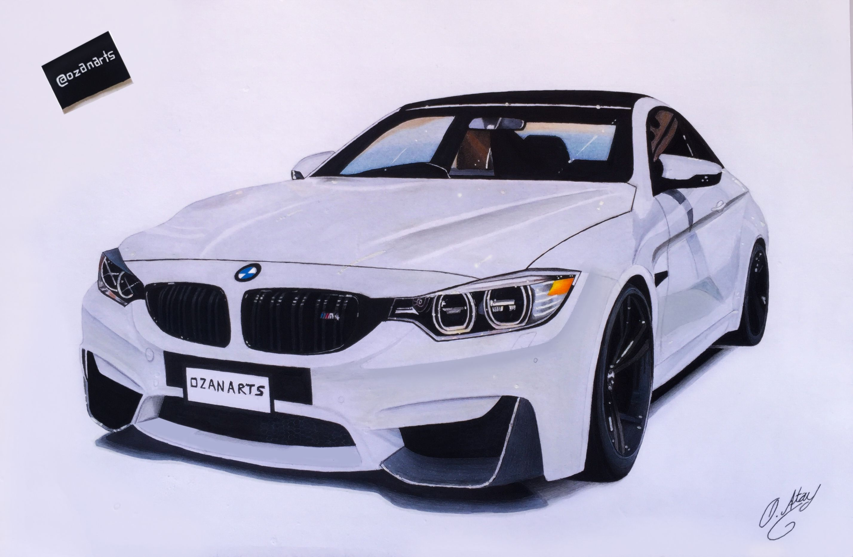 Bmw M4 Cizim Bmw M4 Car Bmw