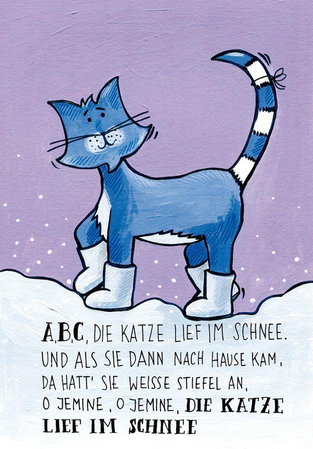 Weihnachtskarten Tiere.Weihnachtskarten Kinder Karten 4 Stück Weihnachten Winterlieder