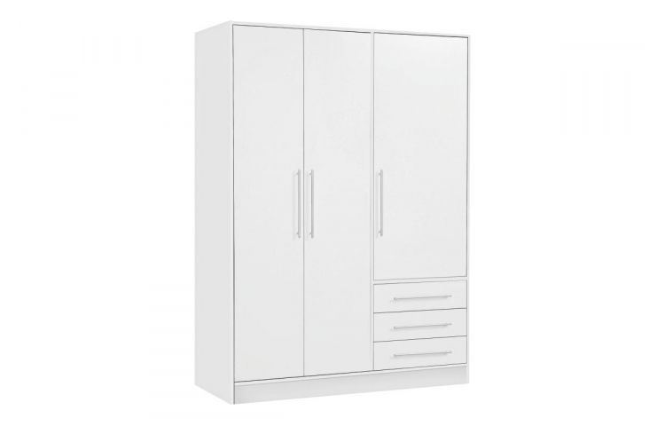 Trend HEMNES Wardrobe with sliding doors White stain x cm