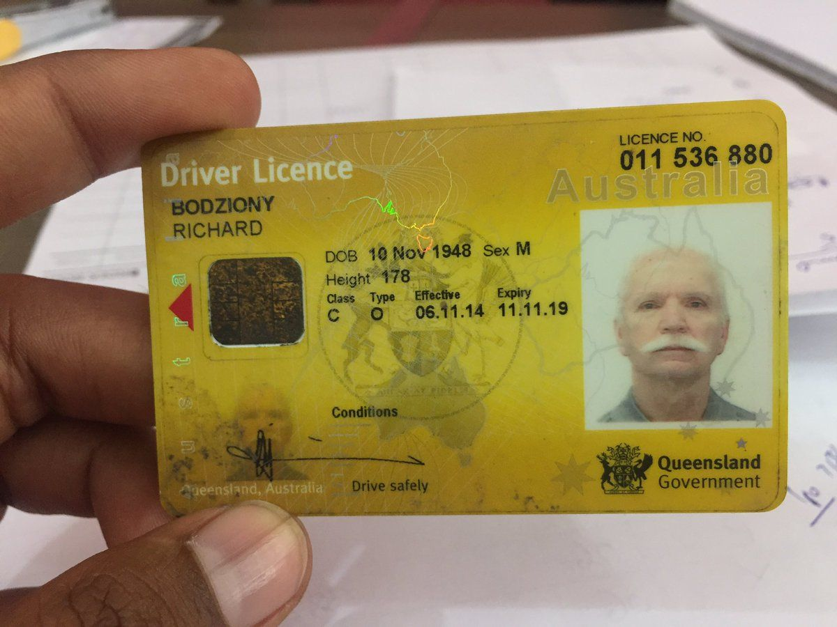 Real Australian drivers license in 2020 Drivers license