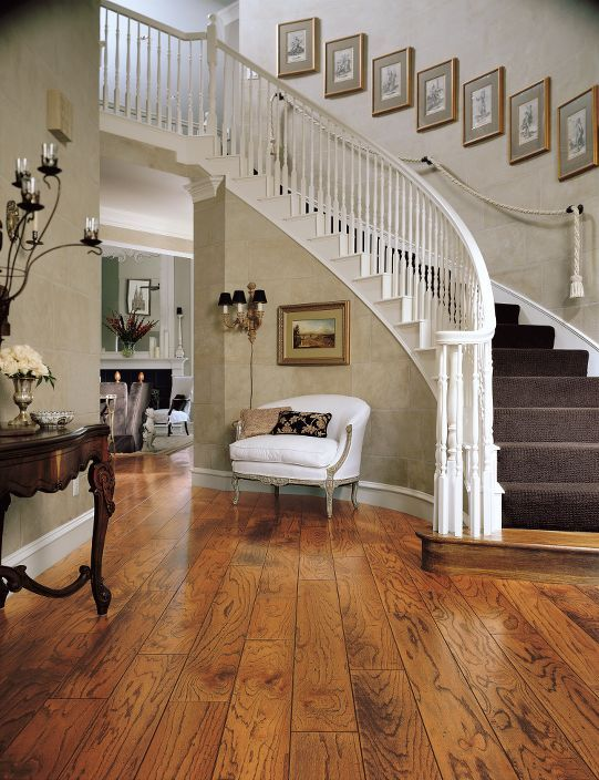 Hardwood Flooring Oak Honey Home Dream House House