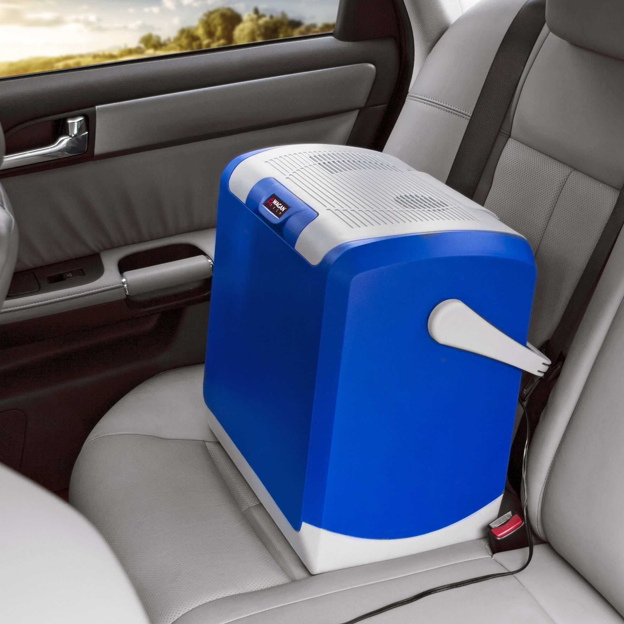 253 qt wagan thermo electric cooler car cooler