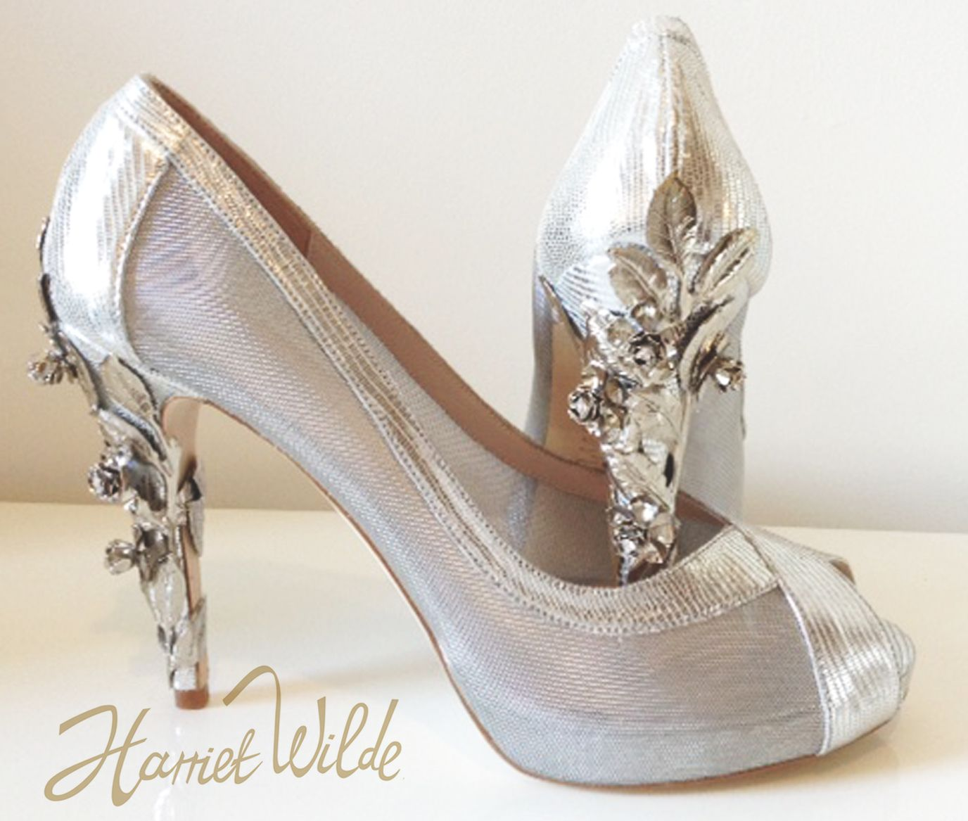 Flora Bespoke Harriet Wilde Wedding Shoes Price On Request Visit Www