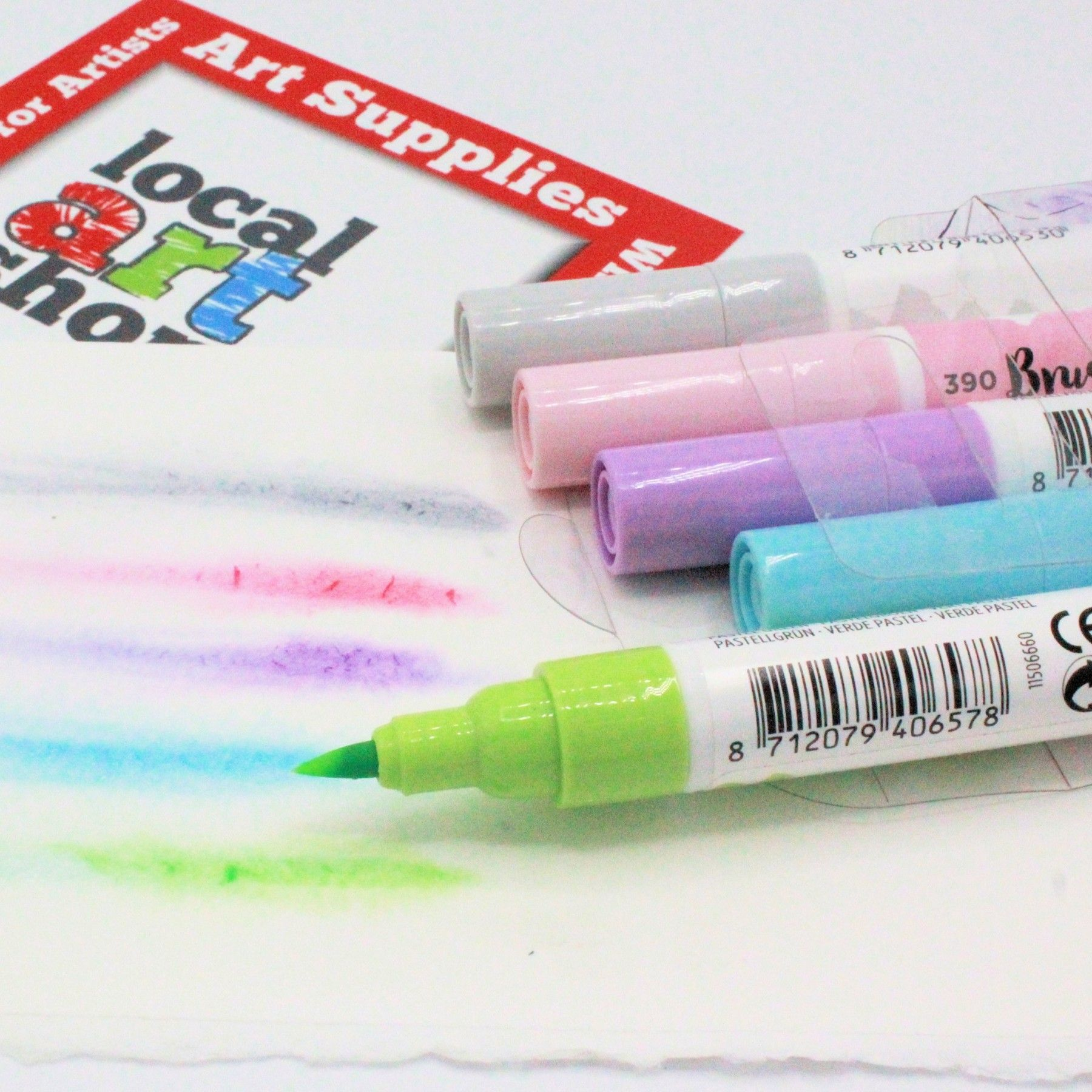 Talens Ecoline Watercolour Brush Pens Packs Of 5 10 15 20 Or