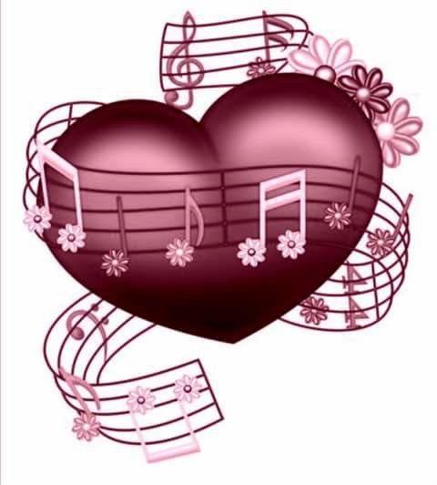 Pin by 📌 Terri Hughes on I ️ LOVE MUSIC | Music heart ...