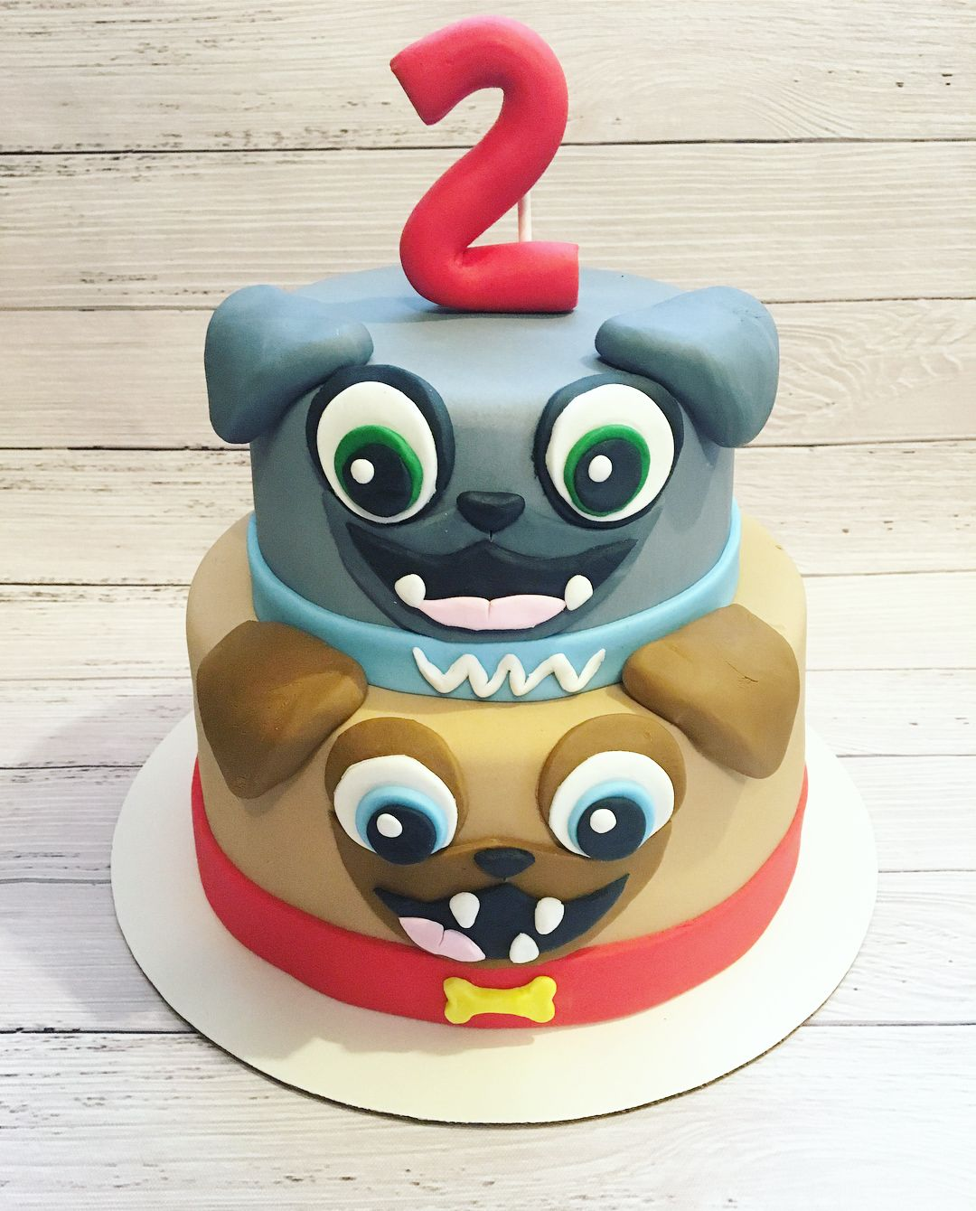 Puppy Dog Pals Cake Puppy birthday parties