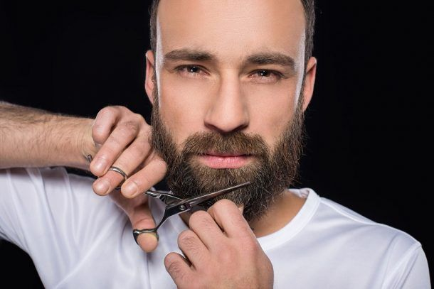 T Your Beard Clippers Vs Scissors