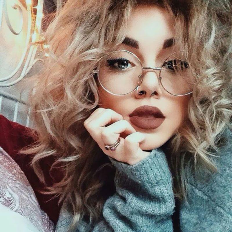 Photo of US $ 3.24 35% RABATT | Runde Brillengestelle für Frauen Brand Designer Sonnenbrillen …