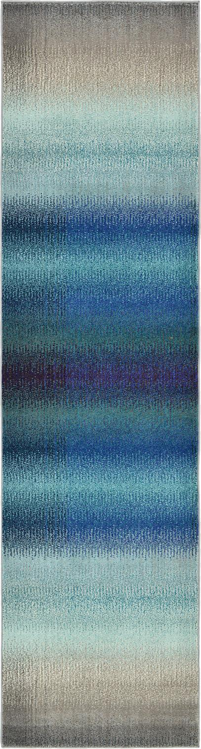 Blue 2 7 X 10 Casablanca Runner Rug Area Rugs Erugs
