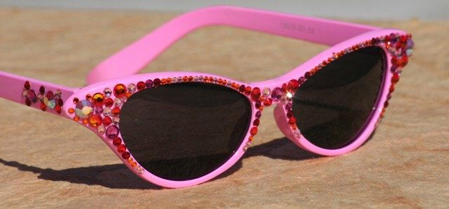 c67f59746bf Bubble Gum Pink Cat Style Sunglasses