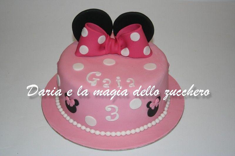 Torte bambini ~ Torta minnie minnie cake minnie children cakes torte bambini