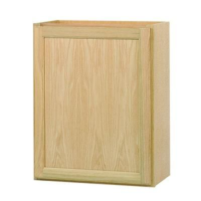 Best Hampton Bay 24X30 In Unfinished Wall Kitchen Cabinet 400 x 300