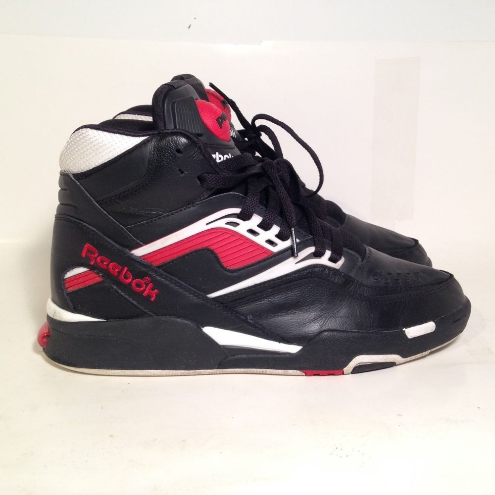 457a1c866a6a Reebok Twilight Zone Pump Og Retro Red black white Mens Size 10.5 ...