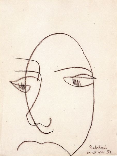 In The Mood October 2015 Matisse Drawing